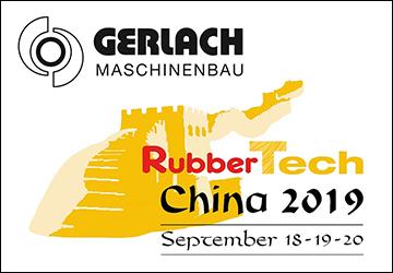 Retrouvez Gerlach au RubberTech China
